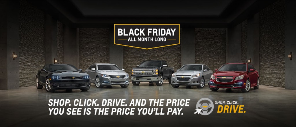 Chevy Black Friday All Month Long Near Akron Oh