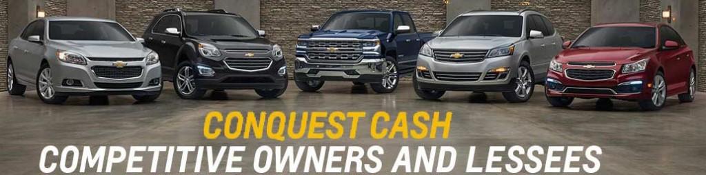 Chevrolet conquest cash