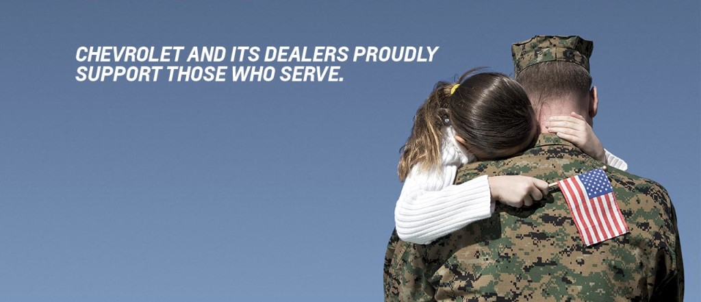 Chevrolet Military Discount Near Canton Ohio