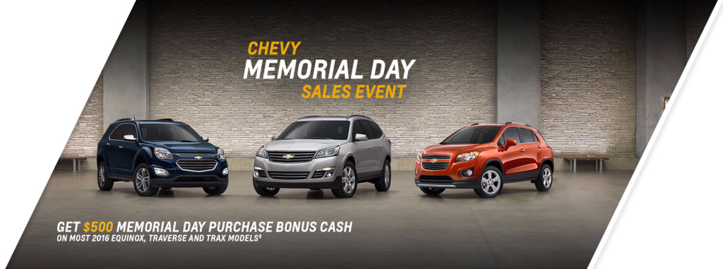 Progressive Chevy Memorial Day Sale In Massillon Ohio