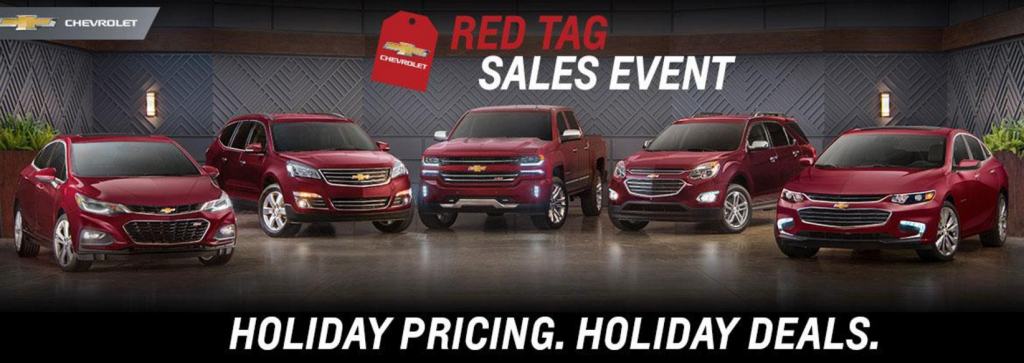 Chevy Red Tag Sale Near North Canton Ohio