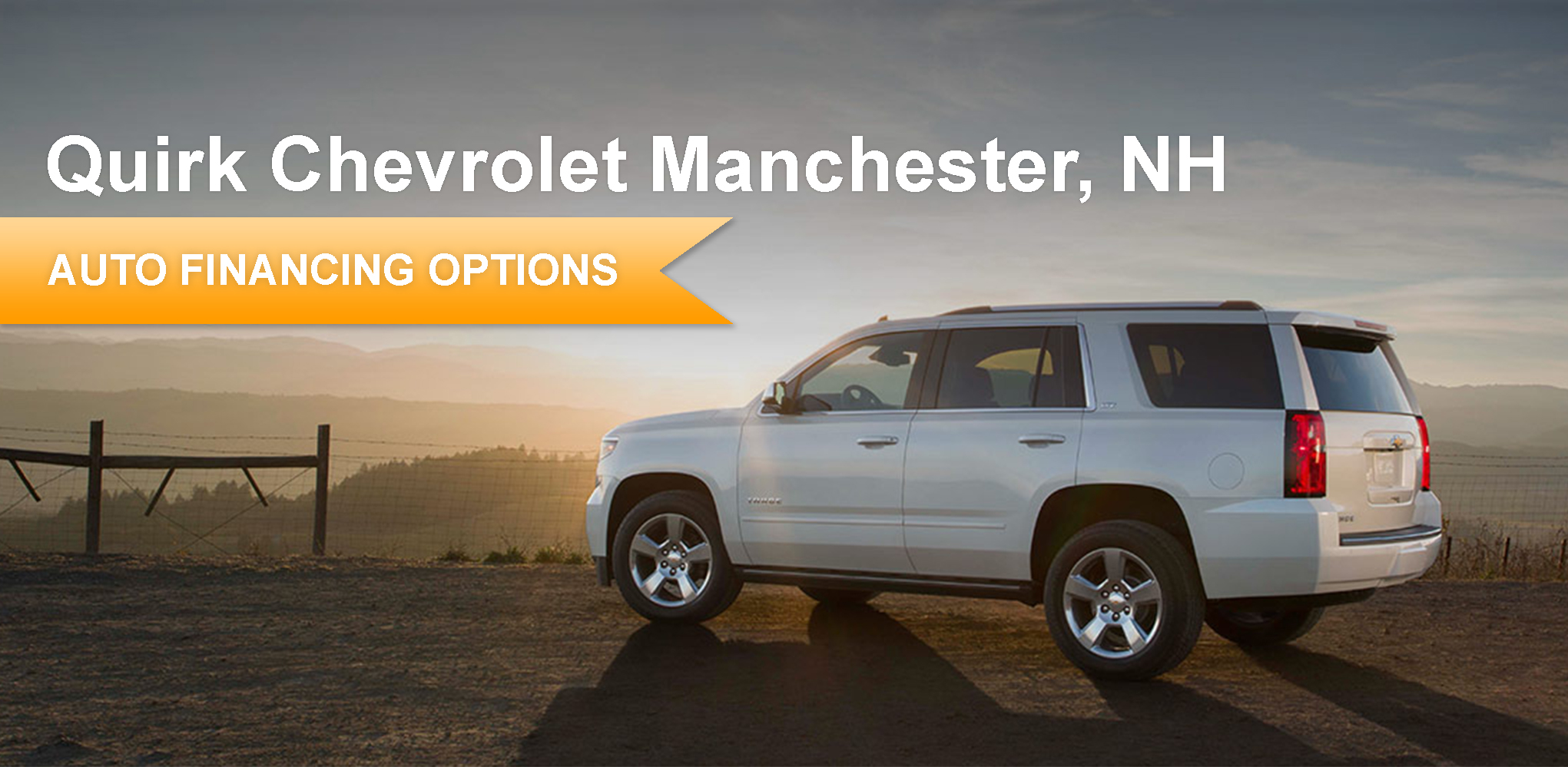 Wonderful New Chevrolet Financing | Quirk Chevrolet Manchester In NH
