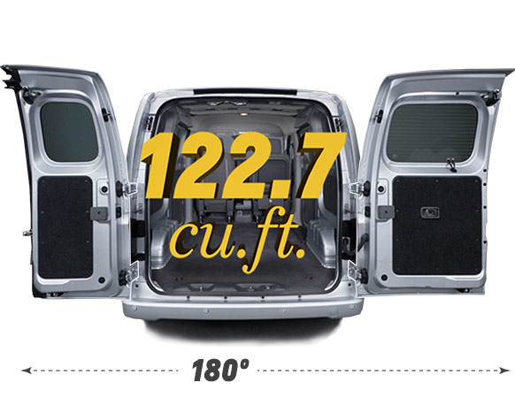 New Chevrolet City Express cargo space Quirk Chevy NH