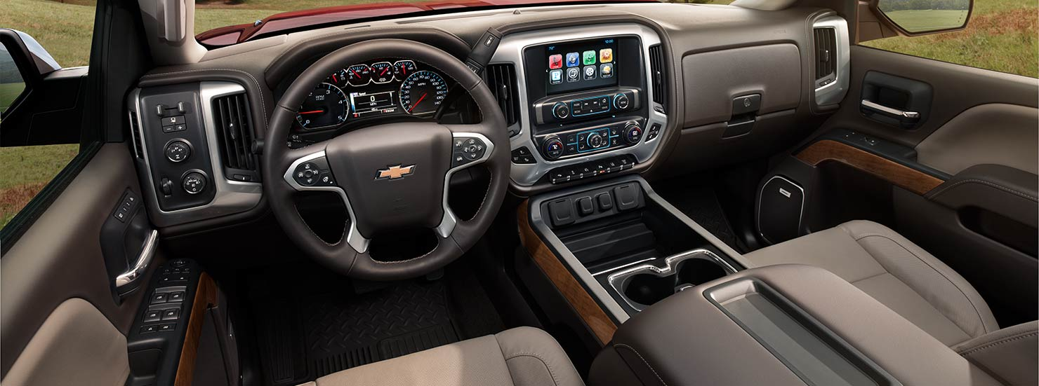 Chevrolet Silverado 2500HD interior | Quirk Chevy NH