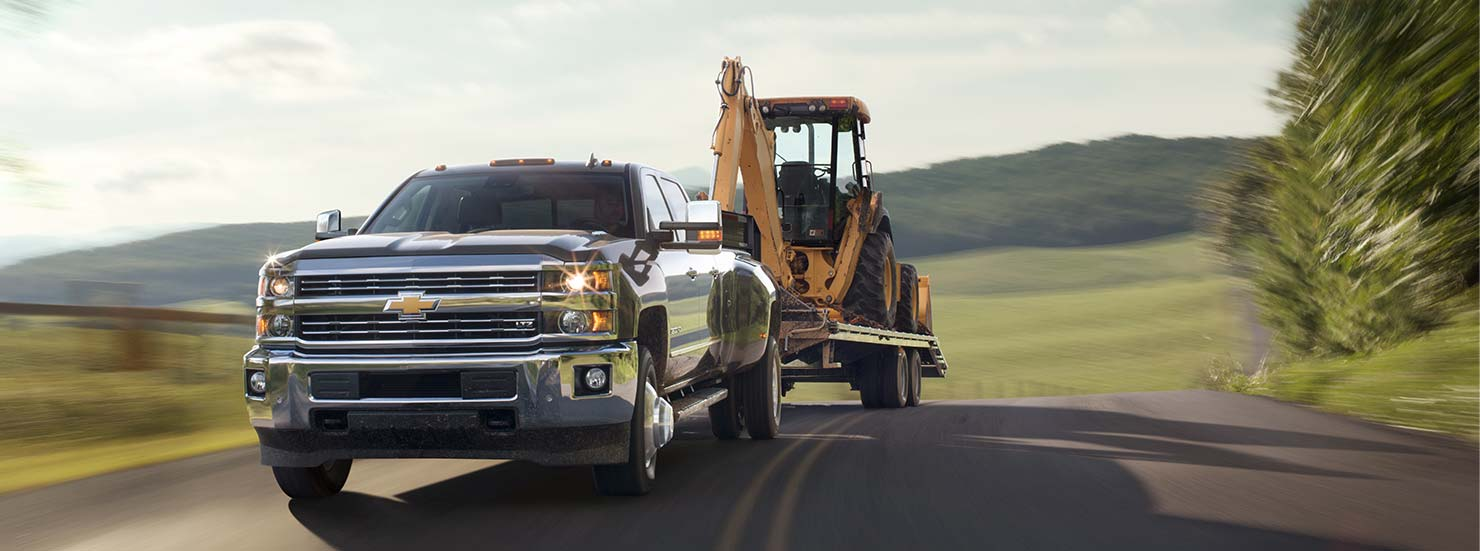 Chevrolet Silverado 3500HD towing | Quirk Chevy NH