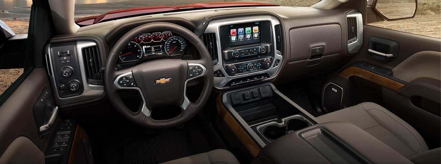 Chevrolet Silverado 1500 interior Quirk Chevy NH