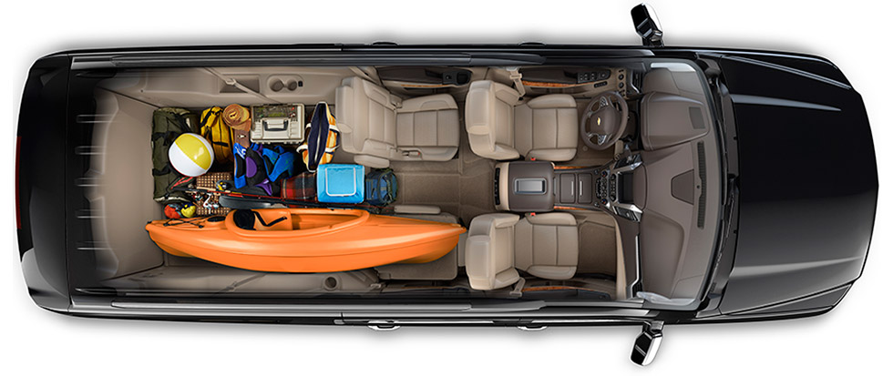 Chevy Suburban cargo space Quirk Chevy NH