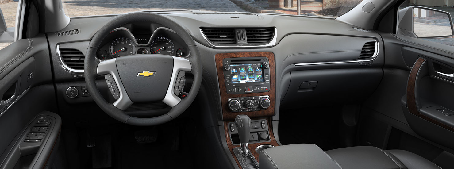 Chevrolet Traverse interior Quirk Chevy NH