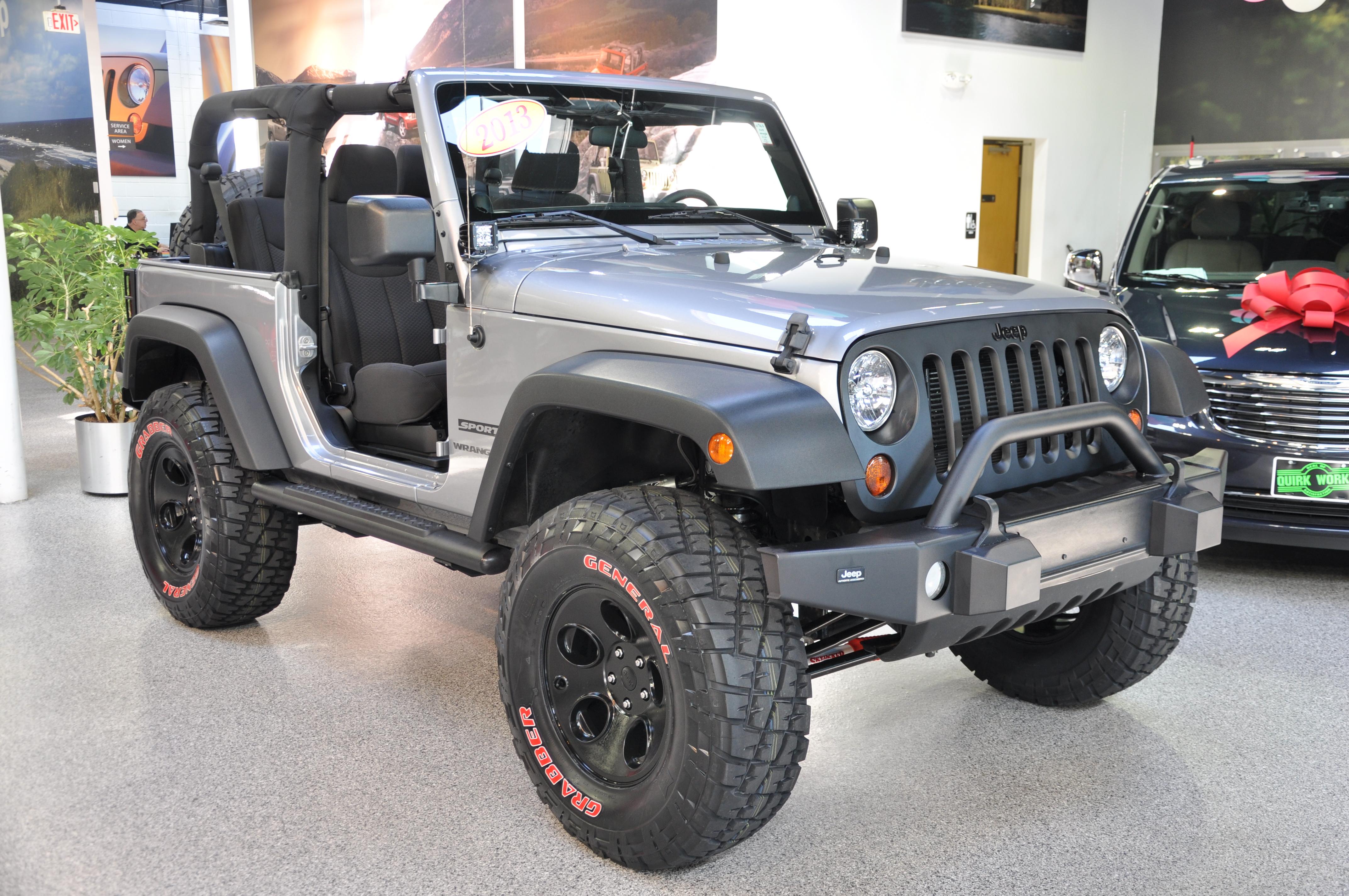 custom 2013 jeep wrangler jk built just outside boston massachusetts. Black Bedroom Furniture Sets. Home Design Ideas