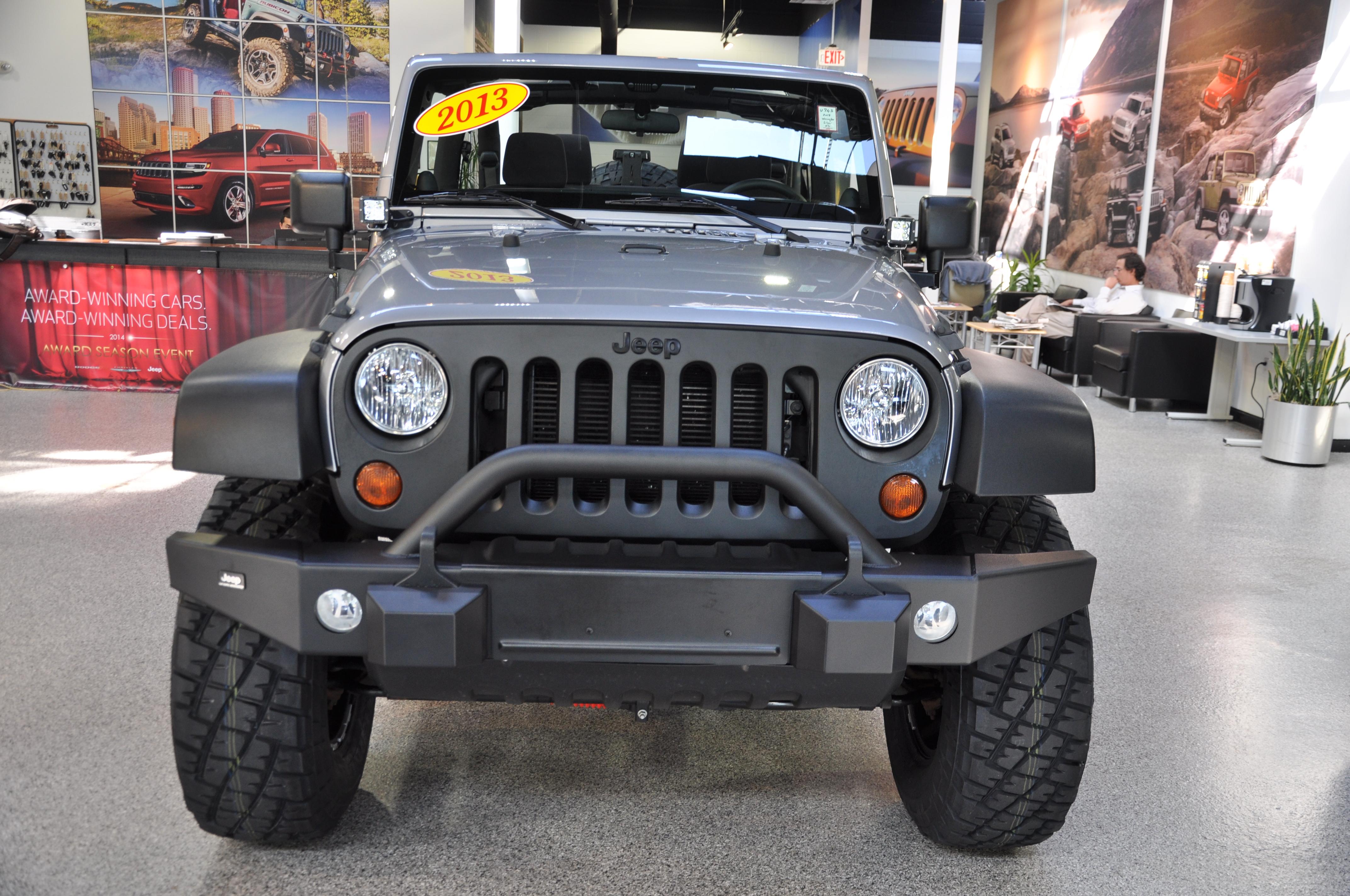 Custom Jeep Wrangler Bumper