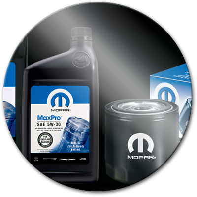 Mopar Chrysler Jeep Oil Change