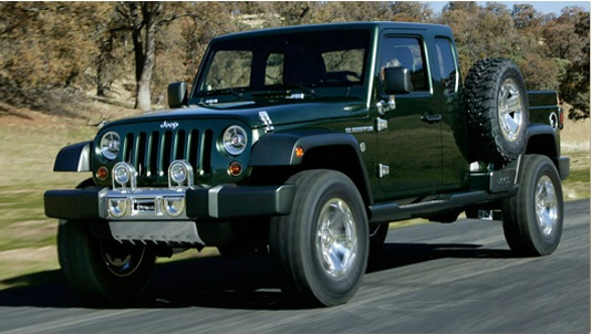 Jeep Wrangler Pickup Truck Concept
