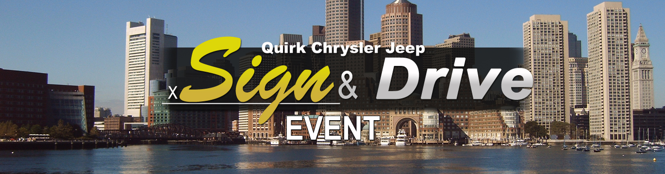 Jeep Sign and Drive Leases Boston