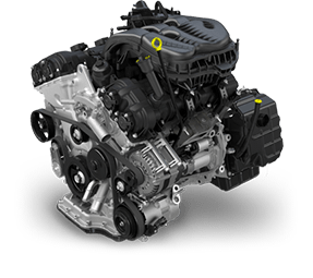 2015 Ram ProMaster 3.6L Pentaster® V6 engine | Quirk Chrysler Dodge Jeep Ram