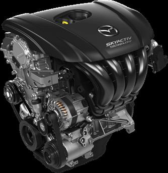 Mazda 2.5L engine 01