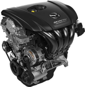 Mazda 2.5L engine 08