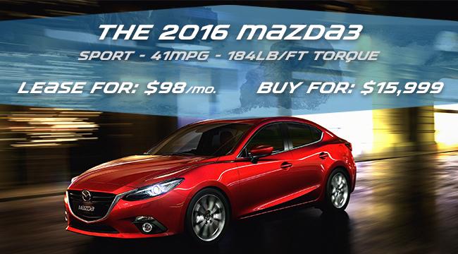All New Mazda Special Prices at Quirk Mazda Near Boston, MA