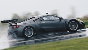 2017 Acura NSX GT3 Rainy