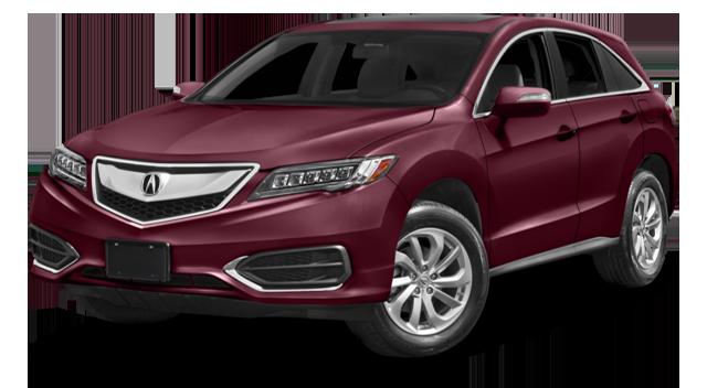 2017 Acura RDX Red