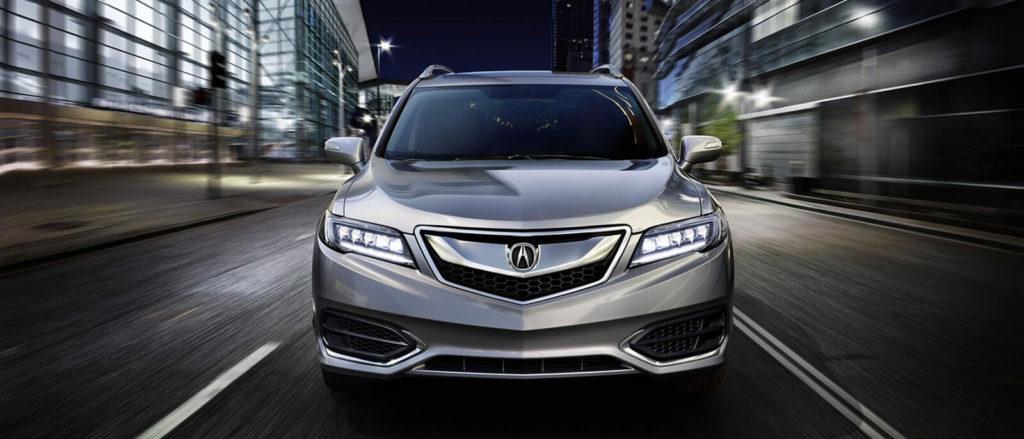 silver 2017 Acura RDX