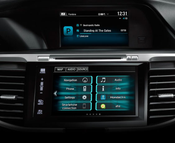 Main Photo: 2016 Honda Accord Sedan Front Dash and Touch Screen