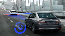 Image showing the Adaptive Cruise Control and Collision Mitigation Braking System on the new 2016 Accord Sedan