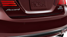 Check out the parking sensors on the 2016 Honda Accord Sedan