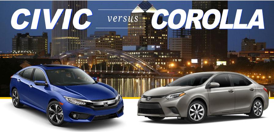 Corolla Vs Civic >> Civic Vs Corolla