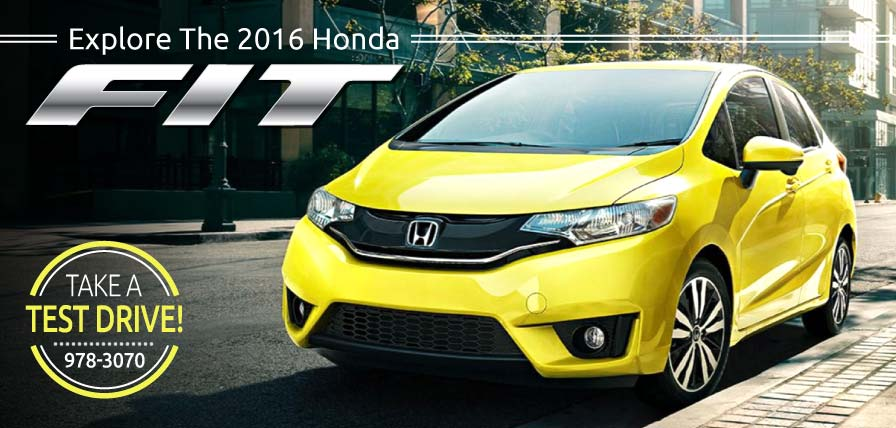 Header Photo of the all-new 2016 Honda Fit now at Ralph Honda Rochester NY