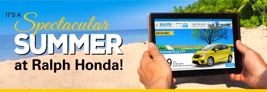It's a Spectacular Summer at Ralph Honda!