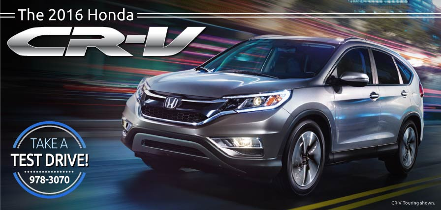Header Photo of the 2016 Honda CR-V at Ralph Honda Rochester NY