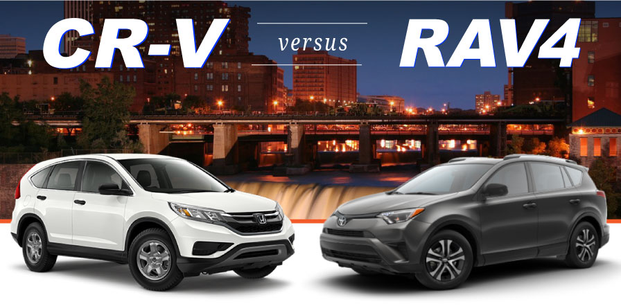Cr V Vs Rav4