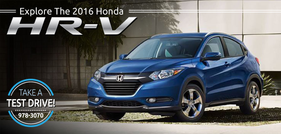 Header Photo of the all-new 2016 Honda HR-V now at Ralph Honda Rochester NY