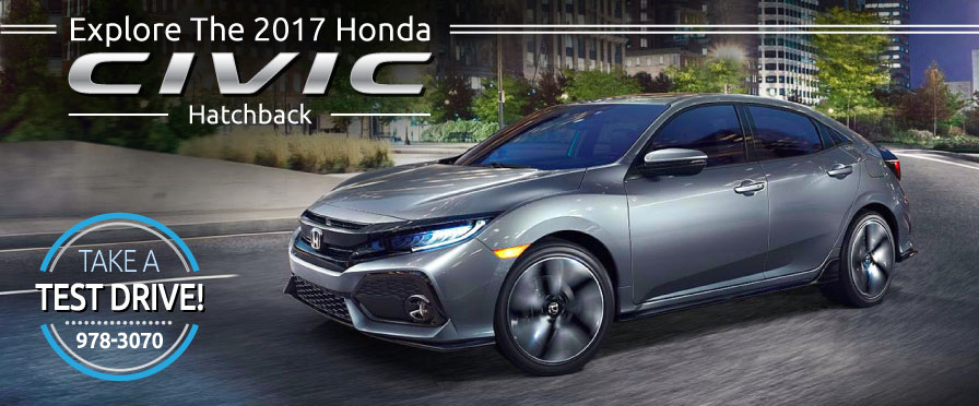Header Photo of the all-new 2017 Honda Civic Hatchback