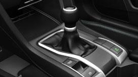 Six-Speed Manual transmission