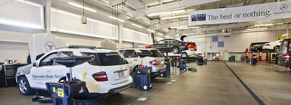 Auto service atlanta cumming buckhead rbm of for Mercedes benz dealers atlanta