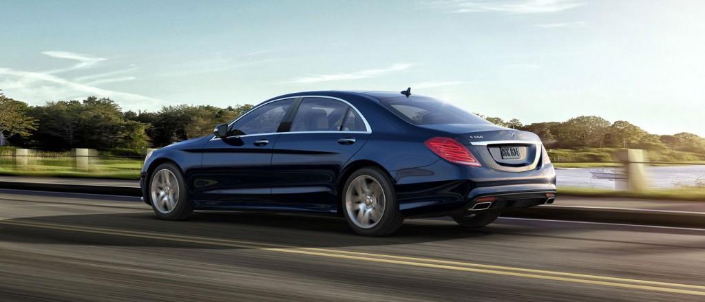2016 Mercedes-Benz S550 Sedan Lease