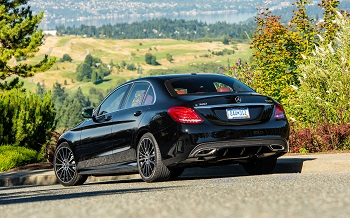 2015-C-CLASS-SEDAN-C300-Black-Rear