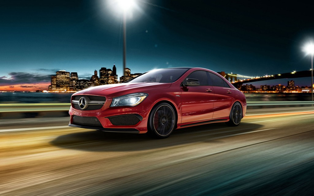 2016 Mercedes-Benz CLA Coupe 1