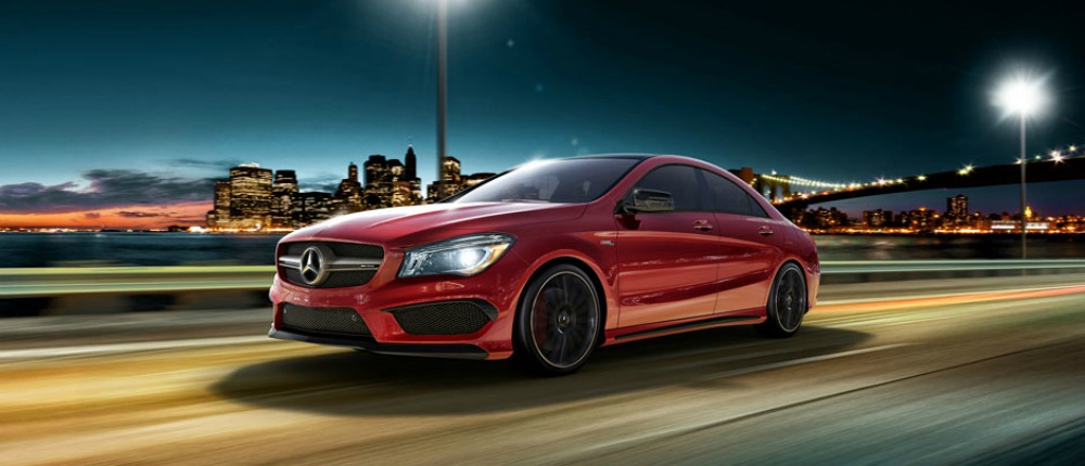 2017 Mercedes-Benz CLA250 Coupe Lease