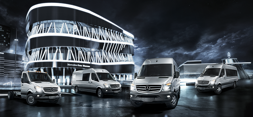 Sprinter Vans - Mercedes Benz