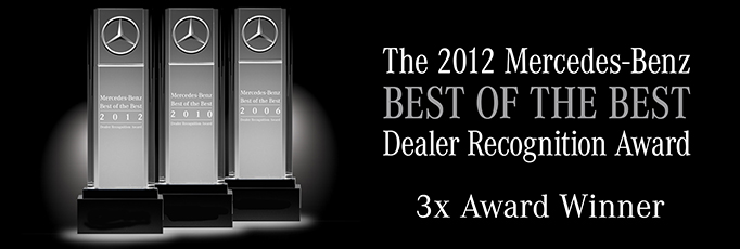 Awards atlanta rbm of atlanta for Top mercedes benz dealerships