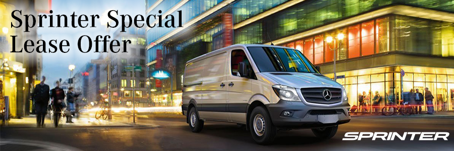 Sprinter van special offers