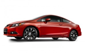 2013 Honda Civic Coupe 1