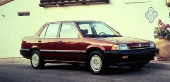 1987 Honda Civic Sedan