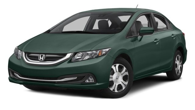 2015 honda civic hybrid vs 2015 honda accord hybrid for Honda accord vs honda civic