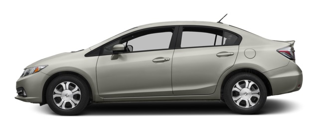 2015 Honda Civic Hybrid Profile