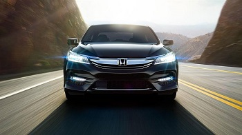 2016 Honda Accord Sedan Black Front