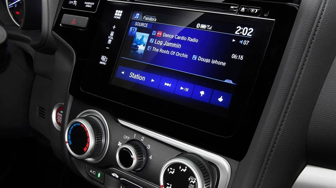 2016 Honda Fit Interior Features