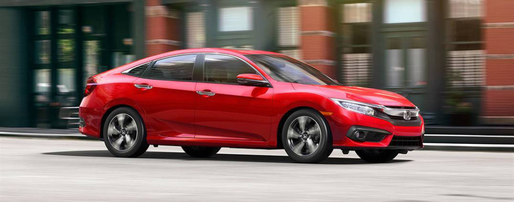 2016 Honda Civic red